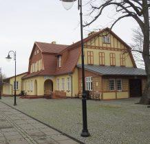 Rewal-stacja kolejki z przełomu XIX i XX wieku