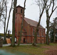 Trzęsacz-kościół neogotycki z 1880 rku