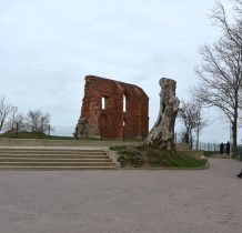 Trzesacz-ruiny kościoła z przełomu XIV i XV wieku