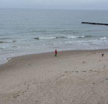Trzęsacz-i znowu na plaży