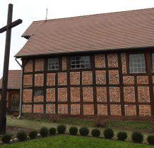 Ciećmierz-kościół konstrukcji ryglowej z 1604 roku