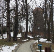gród-zamek zniszczony w wojnie XXX-letniej