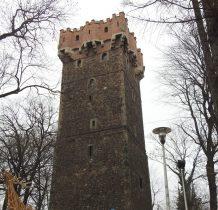 Wieża Piastowska i Rotunda  to jedyne zachowane budowle Zamku Górnego