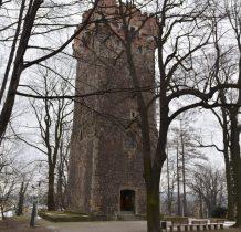 w 1836 roku w miejce zamku górnego istiał już ogród