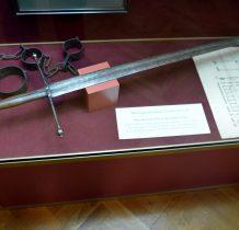 miecz katowski miasta Cieszyna