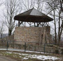 wieża ostatecznej obrony-tzw.sztuczne ruiny z 1914 roku