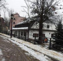dzielnica zwana Wenecja nad kanałem Olzy-Młynówka
