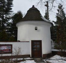 Chechło-jedna z czterech baszt w ogrodzeniu kościoła