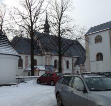 Chechło-kościół,dzwonnica i jedna z baszt
