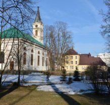 kościół ewangelicki i dawna szkoła powszechna