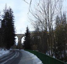 Wisła -Głębce-betonowy most-wiadukt- kolejowy zbudowany w latach 1931-33