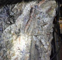 kolorowe wystapienia miejscowych minerałów