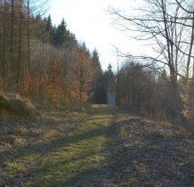 dzwonnica w lesie