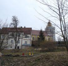 kościół remontowany