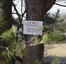 na skraju polany ostrzeżenia