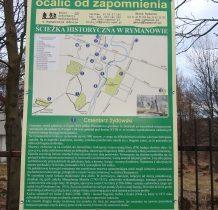 Rymanów-cmentarz żydowski-ogrodzony i zamknięty