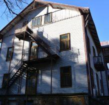 dawne sanatorium Leliwa