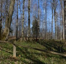 teren cmentarza ogrodzony