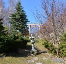 brama ogrodu japońskiego