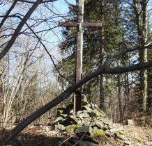 docieram na szczyt Krzyżnika