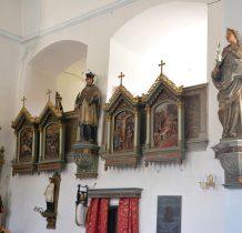 rzeźby różnych świętych