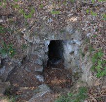 wyjście z jaskini-czekamy na przewodnika