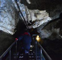 łacznie odkryte korytarze maja ok.4.5km na trzech poziomach