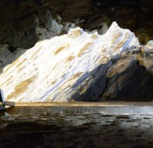 korytarze jaskini moga sięgać aż na czeska stronę