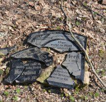 to co zostało na cmentarzu