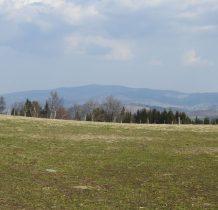 widok na okolice spod Skowroniej Góry