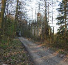 leśna droga do granicy