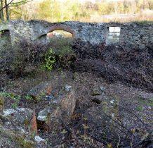 ruiny przy zespole wapienników