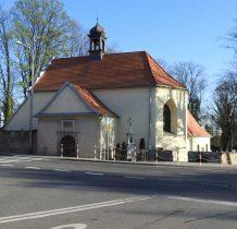 dawny zespół cmentarza ewangelickiego-kościół cmentarny z 1583 roku