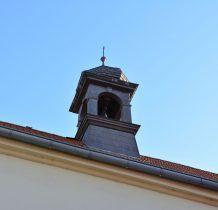 wieżyczka kościoła cmentarnego