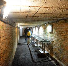 kopalnia,z której przestano odpompowywać wodę została zalana