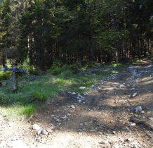 drewniany drogowskaz podpowiada drogę