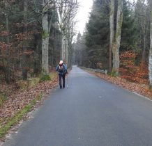3.ponad trzy kilometry marszu Droga Morawska