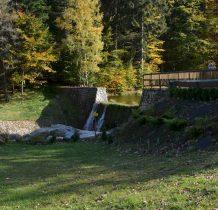mały zalew na Kamienicy