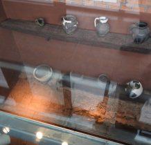 część wystawy archeologicznej