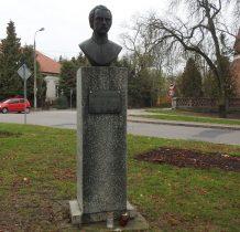 bohaterowi Powstania Styczniowego-popiersie Tomasza Kolbe