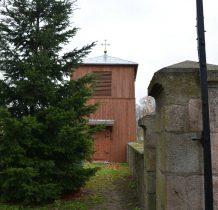 Koziczyn-drewniana dzwonnica z XIX wieku