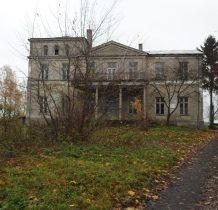 dwór z końca XIX wieku-willa