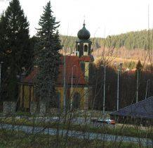 powstała jako kościół pogrzebowy parafii ewangelickiej