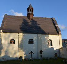kaplicę odbudowano na pocz.XXI wieku