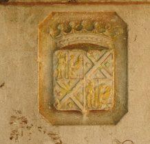 kamienna tablica w kaplicy generałowej