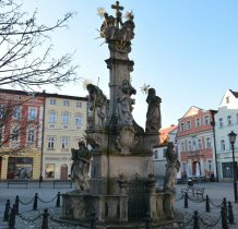Klahr zmarł w 1742 roku,niedługo przed ustawieniem figury na rynku