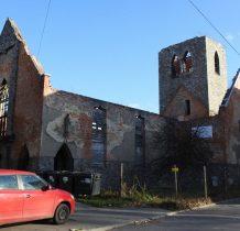 ruiny kościoła ewangelickiego z 1846 roku
