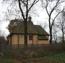 na miejcu drewnianej kaplicy z 1620 roku