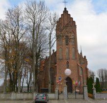 Suleżysz -kościół z XIX wieku