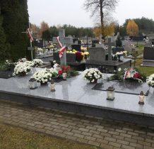 mogiła żołnierzy polskich poległych w 1920 i 1939 roku